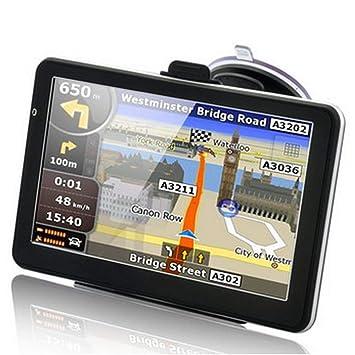 Navegador GPS para Coche Navegador de Mapa Europeo ...
