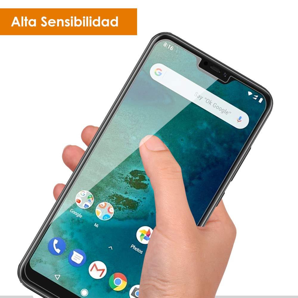 AsBellt Protector de Pantalla Xiaomi A2 Lite, (2 Películas)(Alta Sensibilidad)(Ultra Transparente) (Sin burbujas),TPU Suave, Protector de Pantalla para ...