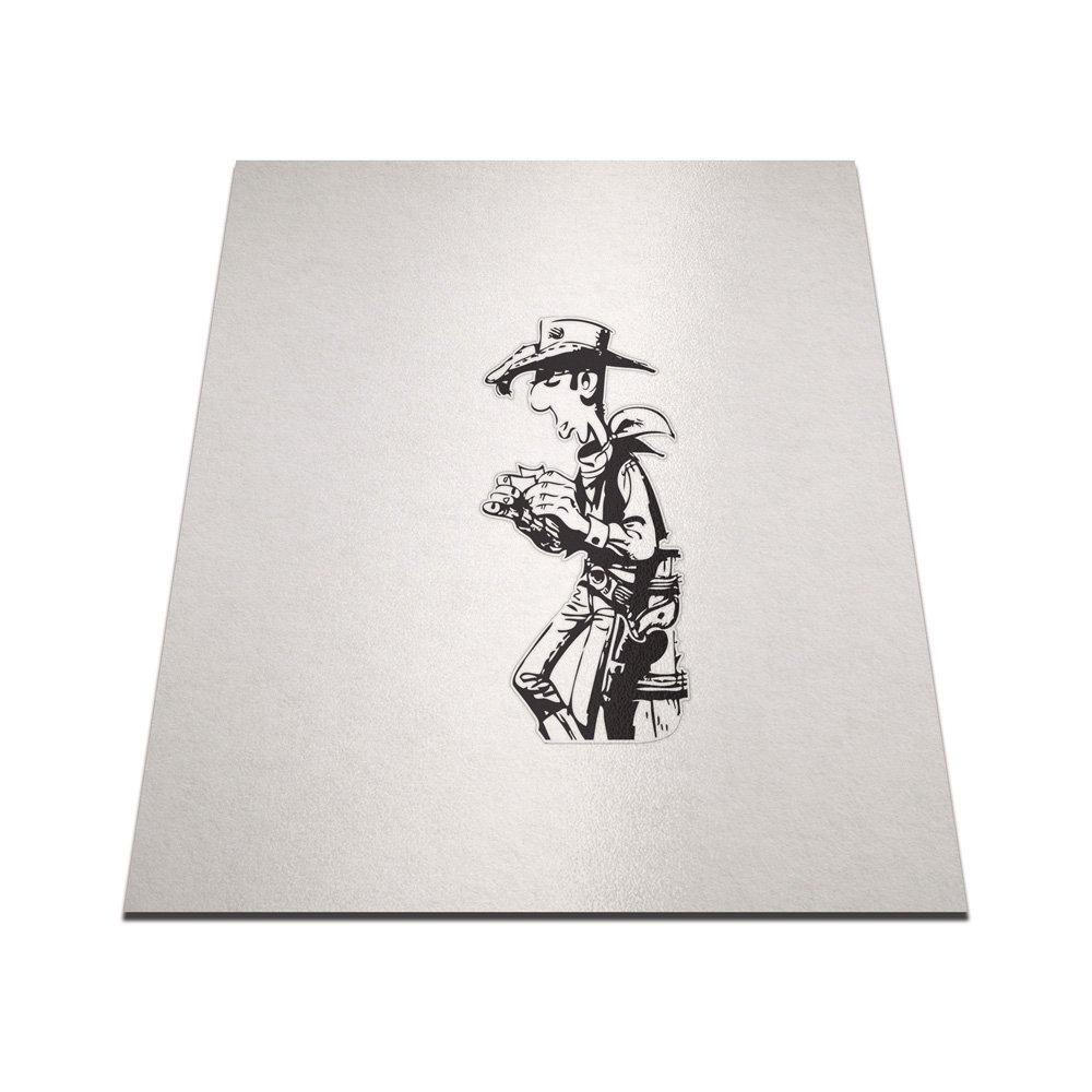 Amazon.com: Lucky Luke Rolling Cigarette Pegatina de Vinilo ...