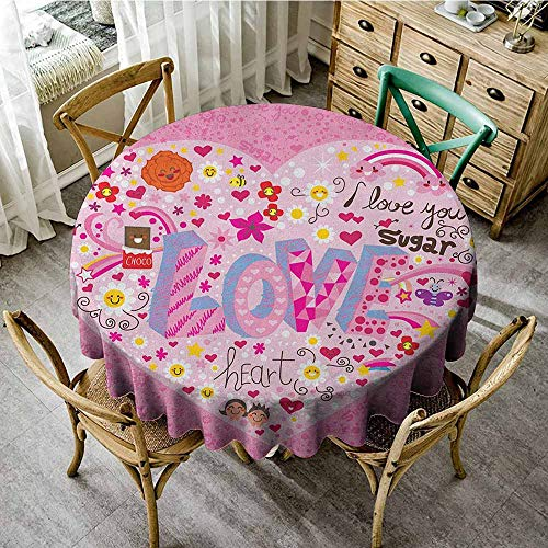 - Dust-proof round tablecloth 67