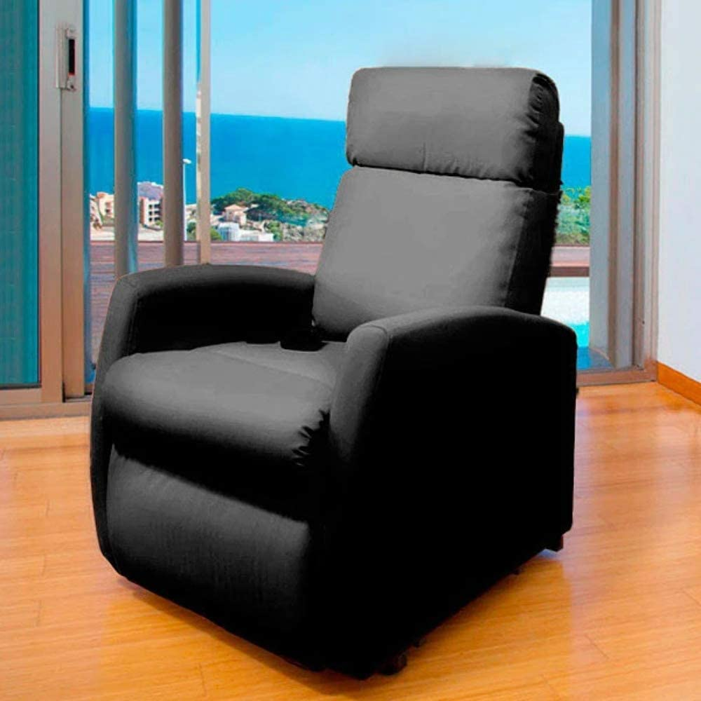 Cecotec Sillón Relax de Masaje Compact, Función Calor, 5 Programas ...