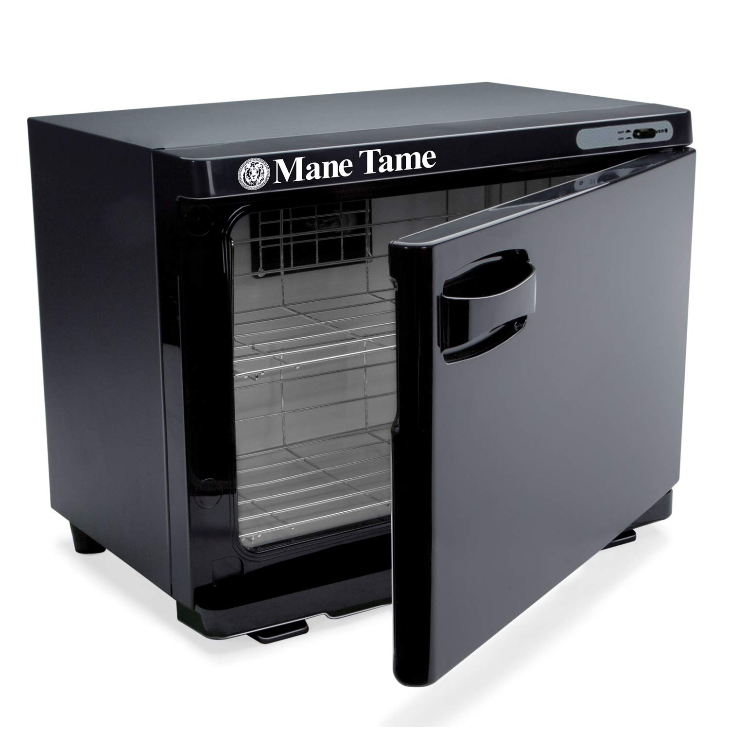Mane Tame Professional Barber Large Towel Warmer - Pre-Hot Towel Facial Shave Cabinet comfortably fits (28) 15'' x 28'' Towels