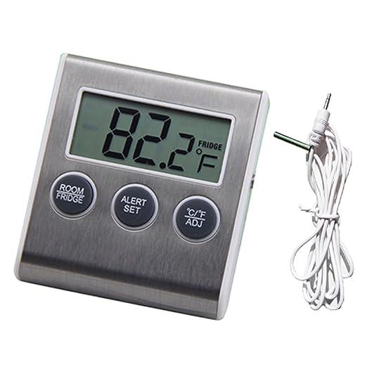 YIHAO frigorífico termómetro alarmas de alta y baja temperatura ...
