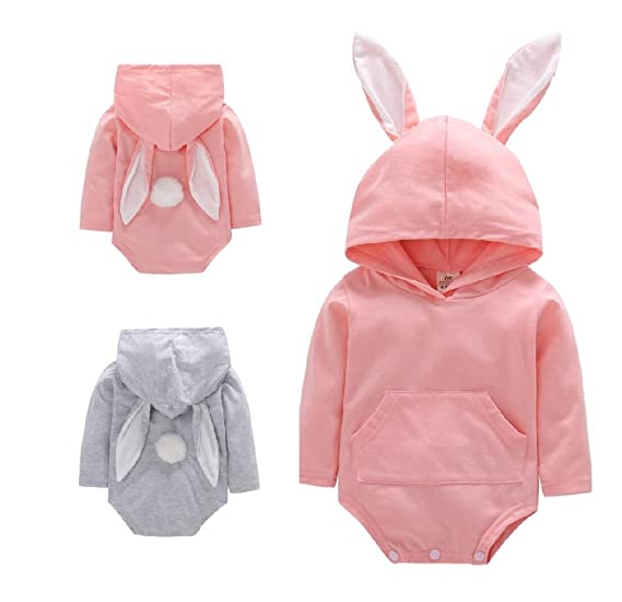25d746fb01a0 Amazon.com  Kehen Infant Toddler Baby Girl Boy Rabbit Long Ears ...
