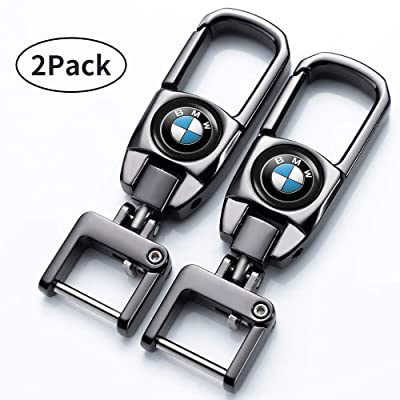 Jazzshion Car Key Fob Key Chain Keychain for BMW X1 X2 X3 X4 X5 X6 M135i M235i M240i Z4 328i X 7 Series: Automotive
