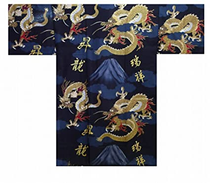 Amazon.com : Yukata Authentic Japanese Samurai Fresh & Cool ...