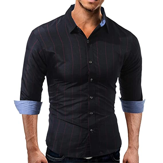 Resplend Camisa de Manga Larga con Cuello en V para Hombre de otoño Sudaderas con Capucha Top Bleuse by: Amazon.es: Ropa y accesorios