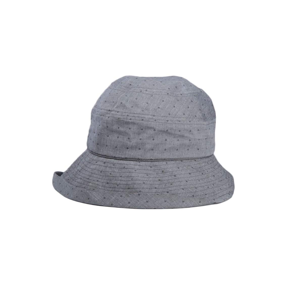 Hat, Sun Hat, Ladies Casual Hat, Size: 56-58cm, Color: Gray, Blue, (Color : Gray)