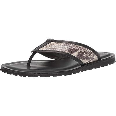 Massimo Matteo Men's Snake Thong | Sandals