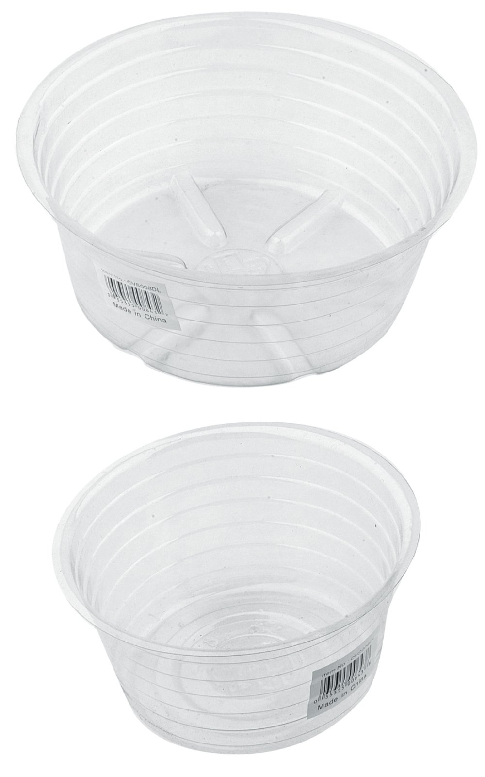 Bond CVS017DL Deep Clear Plant Saucer, 50-Pack, 17-Inch by Bond
