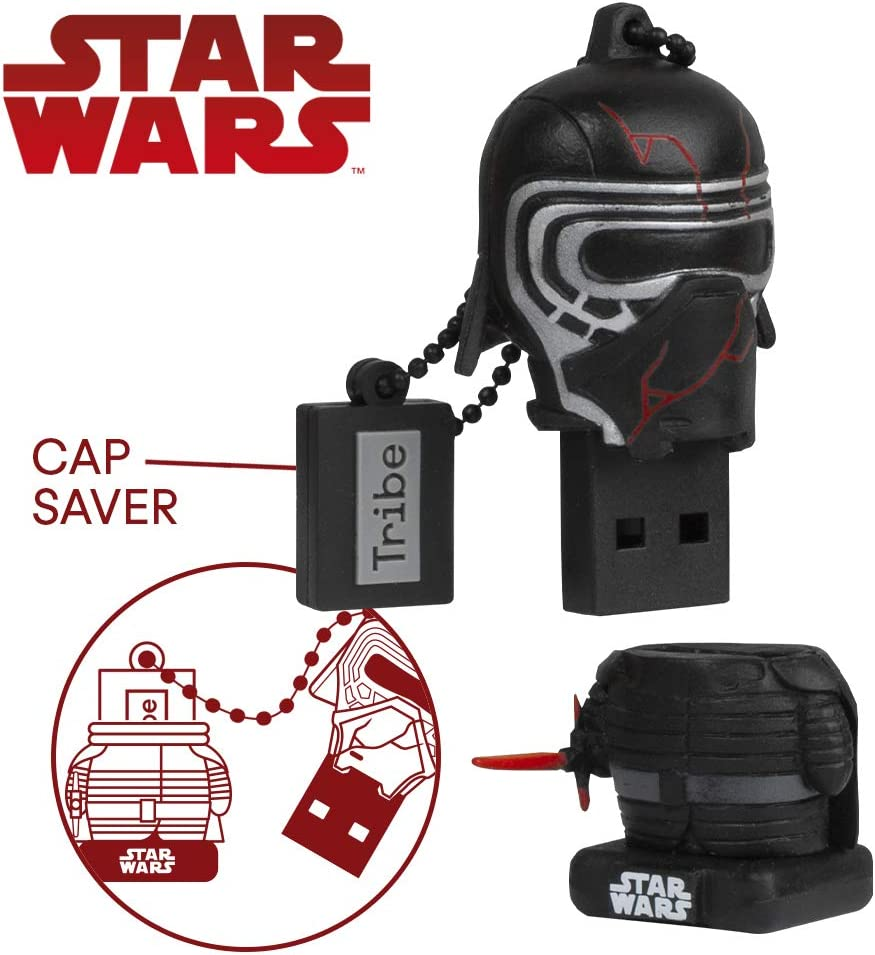Llave USB 32 GB Kylo - Memoria Flash Drive 2.0 Original Star Wars ...