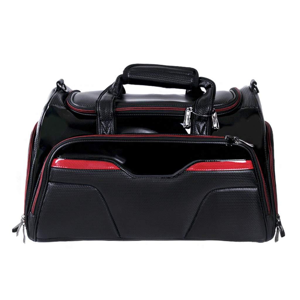 ゴルフ服バッグ ポータブルメンズシューズ 大容量トラベルバッグ付き B07PH6DLCH