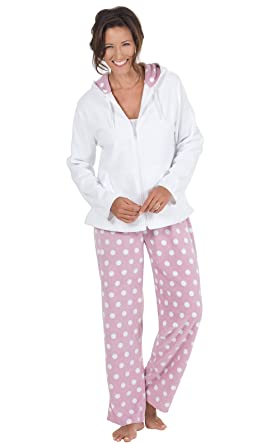 7e598742665f PajamaGram Soft Womens Fleece Pajamas - Fuzzy Pajamas for Women ...