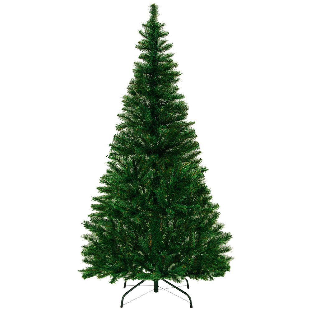 Artificial Christmas Tree 5 ft - 8 ft Size Choice Quality Plastic ...
