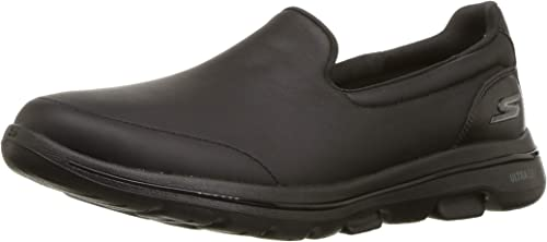 leather skechers go walk