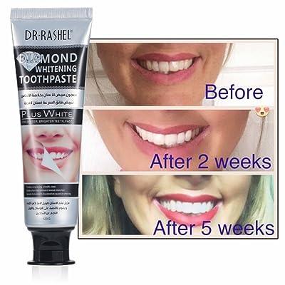 Diamond Whitening Toothpaste Stain Remover Mint Dental Cream