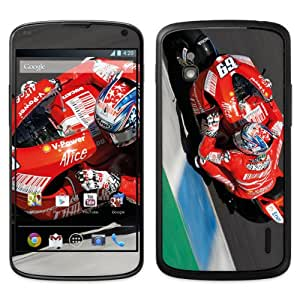 B 0090-0021-0009 Diabloskinz Skin para LG Google Nexus 4-Hayden lean
