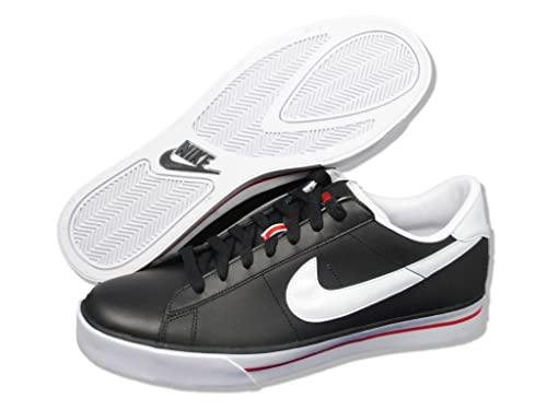 d2809e434510 Nike Sweet Classic Leather 318333-026 (Black White-Sport Red) 13 ...