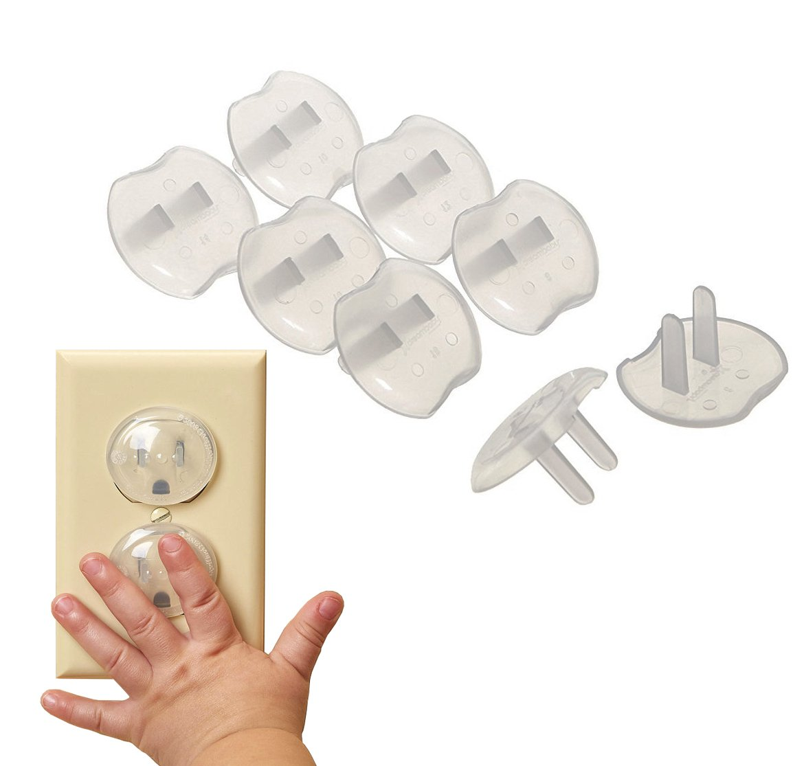 Plug Covers Outlet Protectors Set of 8 BNYD