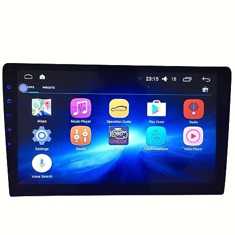 Reproductor de DVD GPS para Coche con Pantalla Grande DE 10,1 Pulgadas, Android
