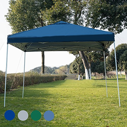 Sundale Outdoor 10 x 10 FT Heavy Duty Pop Up Canopy Waterproof UV-Protected Gazebo Portable Inst ...