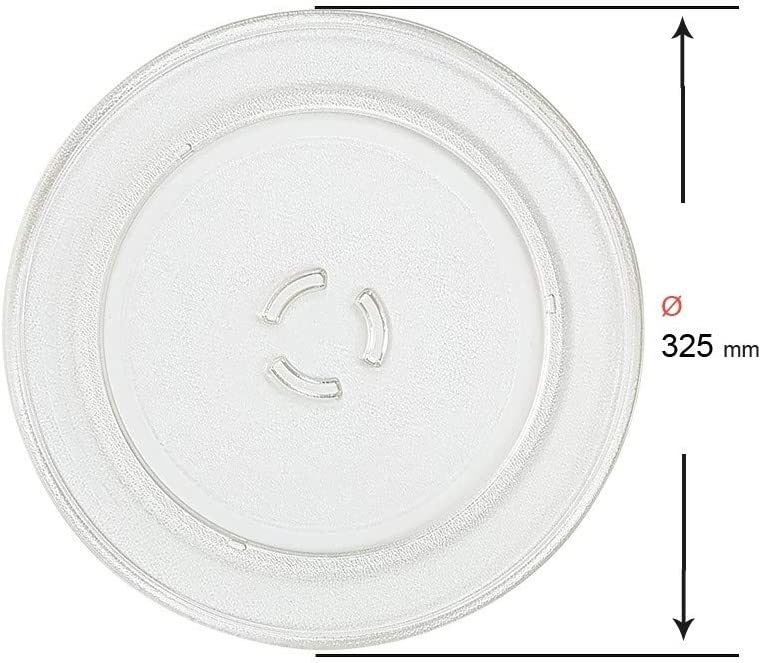 Recamania Plato microondas Whirlpool FR339 Family cheff 32.5cm