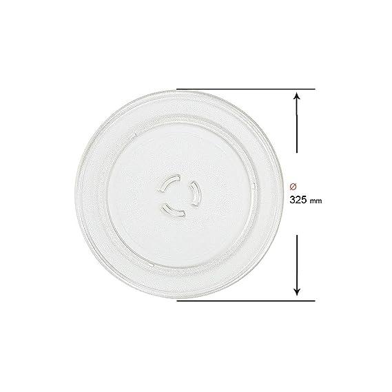 Recamania Plato microondas Whirlpool FR339 Family cheff 32.5cm ...
