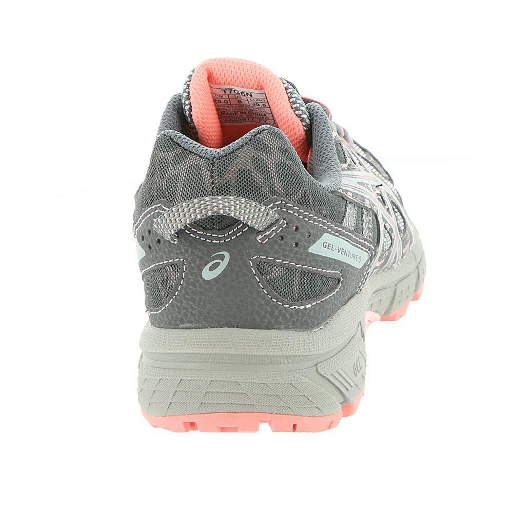 7d7ebb04b53ce ASICS Womens Gel-Venture 6 Carbon/Mid Grey/Seashell Pink Running Shoe -  10.5 - T7G6N.9796 < Road Running < Clothing, Shoes & Jewelry - tibs