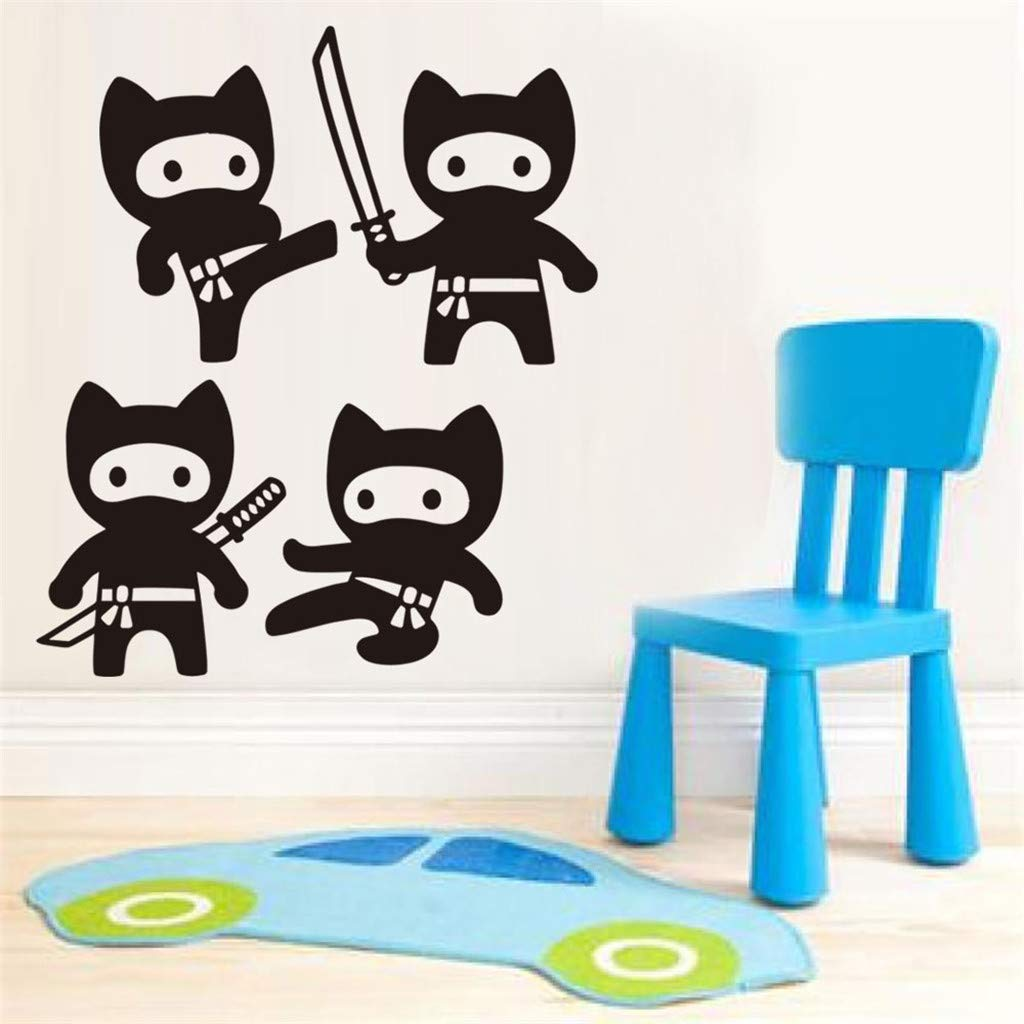 Amazon.com: Sunnyys Hot Cartoon Character Ninja Wall ...