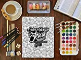 Color the Words of Jesus: A Christian Coloring