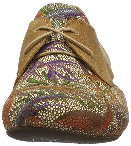 Zapatos Marrón Mujer para Derby Think kombi Cordones Guad muskat de 40 Tw5xPSq