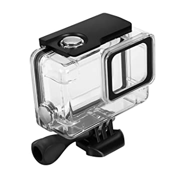 Kupton Waterproof Case for GoPro Hero 7 Silver/White Housing Case Accessaries Diving Protective Housing Shell 45 Meter for Go Pro Hero7 Silver White ...