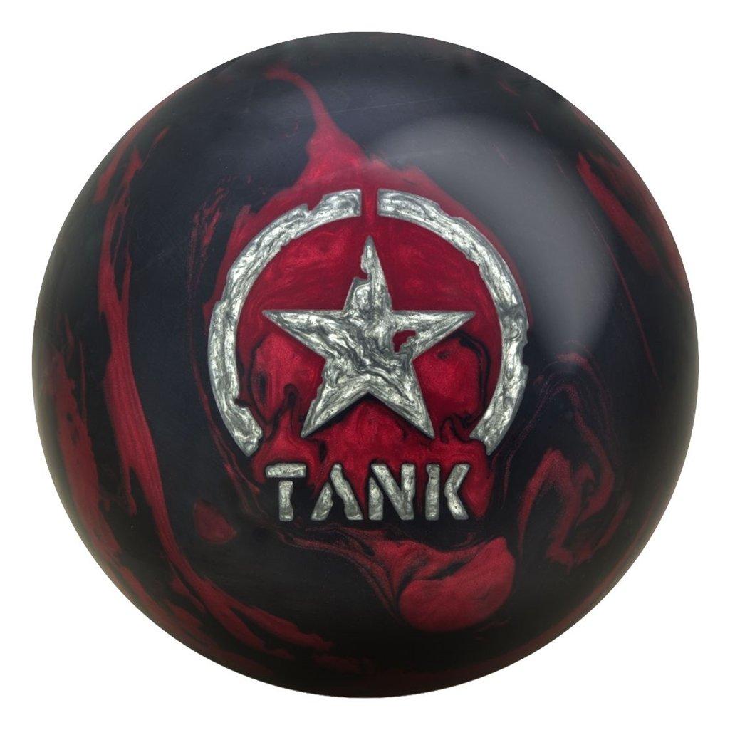 Motiv CombatタンクBowling ball-ブラック/バーガンディ B078S6B7VV  16lbs