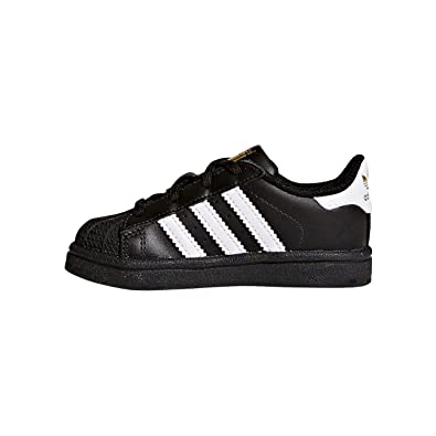 buy popular ec723 b475a adidas Superstar I, Sneaker Unisex Bimbo, Nero Core Black Ftwr White, 23.5  EU  Amazon.it  Scarpe e borse