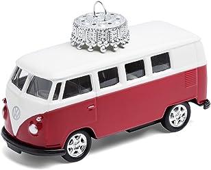 corpus delicti :: Christbaumschmuck – die rollende Alternative zur Weihnachtskugel – VW Bus T1 Bulli (rot)