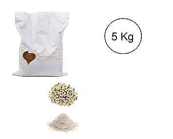 BIO de 5 kg de harina de frijoles de ojo negro: Amazon.es: Salud y cuidado personal