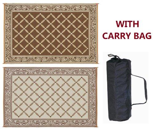 reversible-mats-116097-brown-beige-6x9-rv-patio-mat