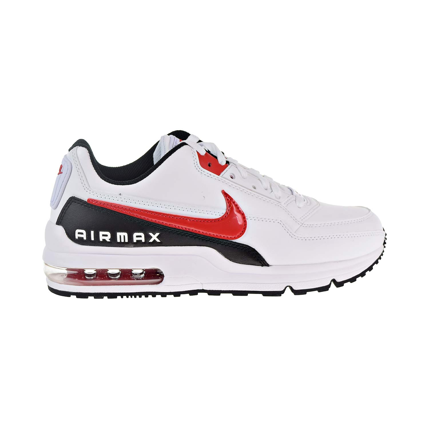 best authentic 998a2 e686c Amazon.com   Nike Air Max LTD 3 Men s Shoes White University Red Black  bv1171-100 (10 D(M) US)   Road Running