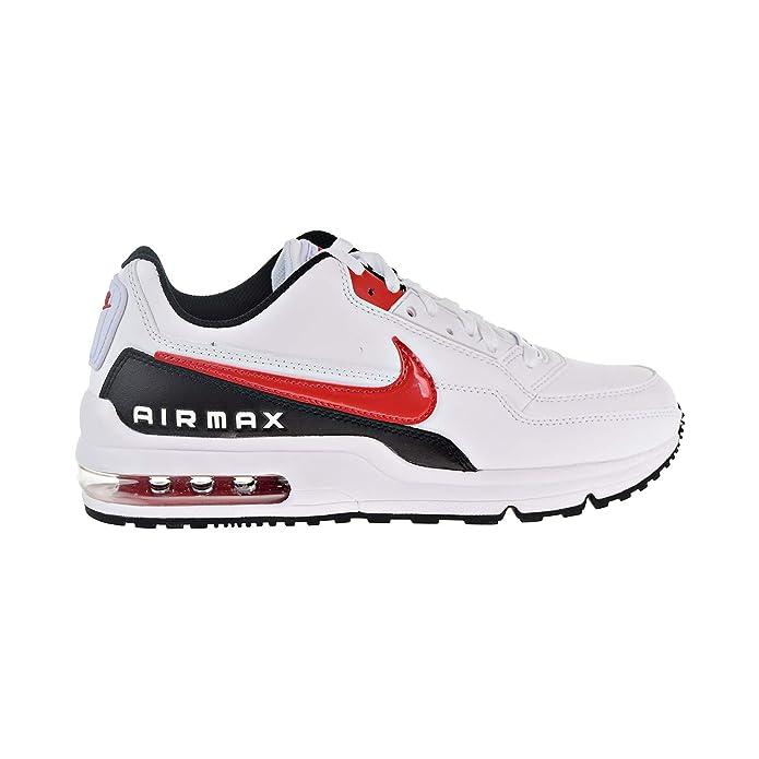 Nike Air Max LTD 3 Men's Shoes WhiteUniversity RedBlack bv1171 100 (11.5 D(M) US)