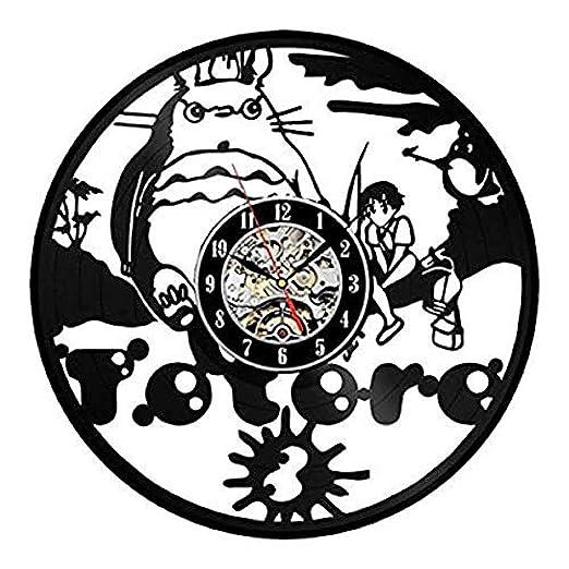AGlitw Disco de Pared de Vinilo Relojes de Vinilo Relojes y ...