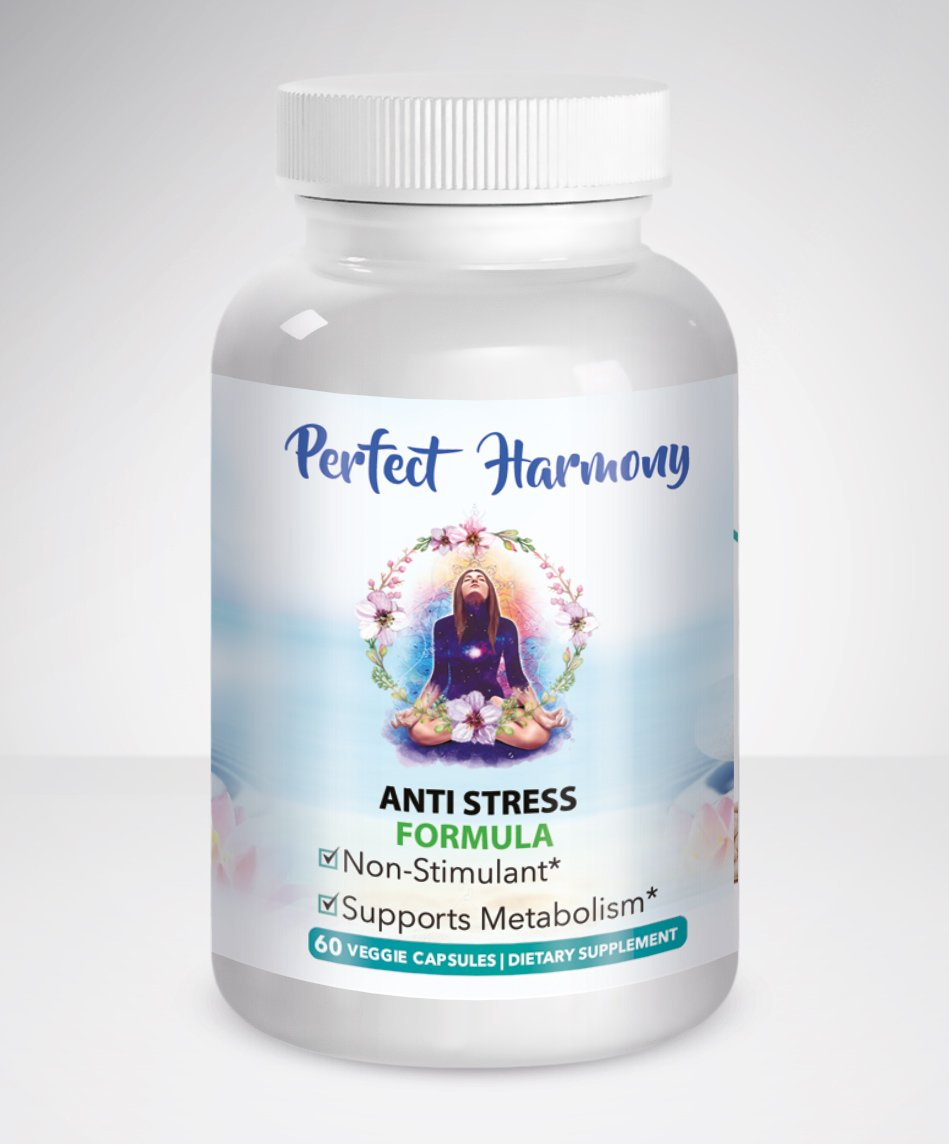 PERFECT HARMONY ~ Stress Relief Formula for Women. Anti Anxiety and Panic Aid