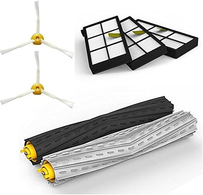 Adtechome Kit de Piezas de Repuesto de Aspirador para iRobot Roomba 800/900 series 870 880 980, Kit de piezas de repuesto de Robots de limpieza por vacío: Amazon.es: Hogar