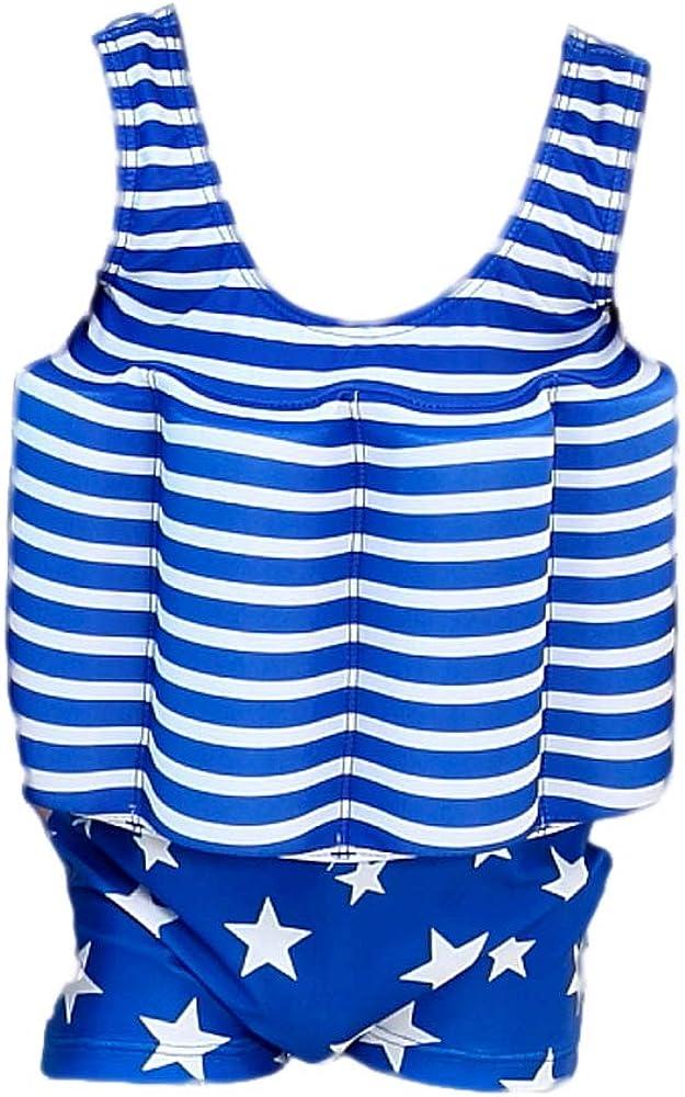 Gifts Treat des Gamins Costume de Flotteur B/éb/é Gar/çon Fille Protection Solaire Maillot de Bain Flottant avec flottabilit/é r/églable UPF 50