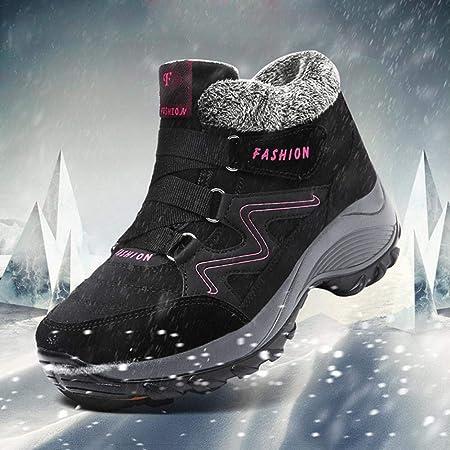 Seasons Shop Mujer Botas De Nieve Zapatos Impermeables De ...