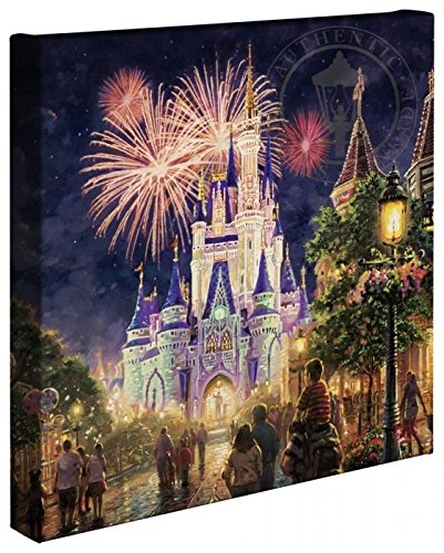 Thomas Kinkade - Gallery Wrapped Canvas , Main Street U.S.A. Walt Disney World Resort , 14