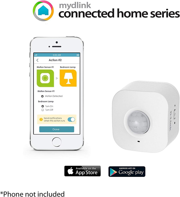 D-Link Smart Home Motion Sensor Plug-in Wi-Fi mydlink DCH-S150 Renewed