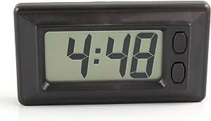 Digital LCD Car Dash Clock Timer Dashboard Calendar Screen Display Adhesive