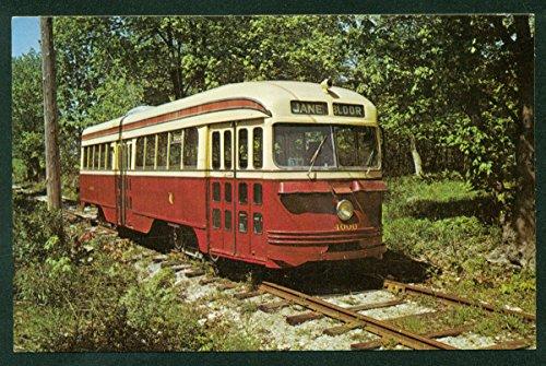 Toronto Transit Trolley Car Canadian Train A-1 Class PCC 4000 TTC Canada Postcard