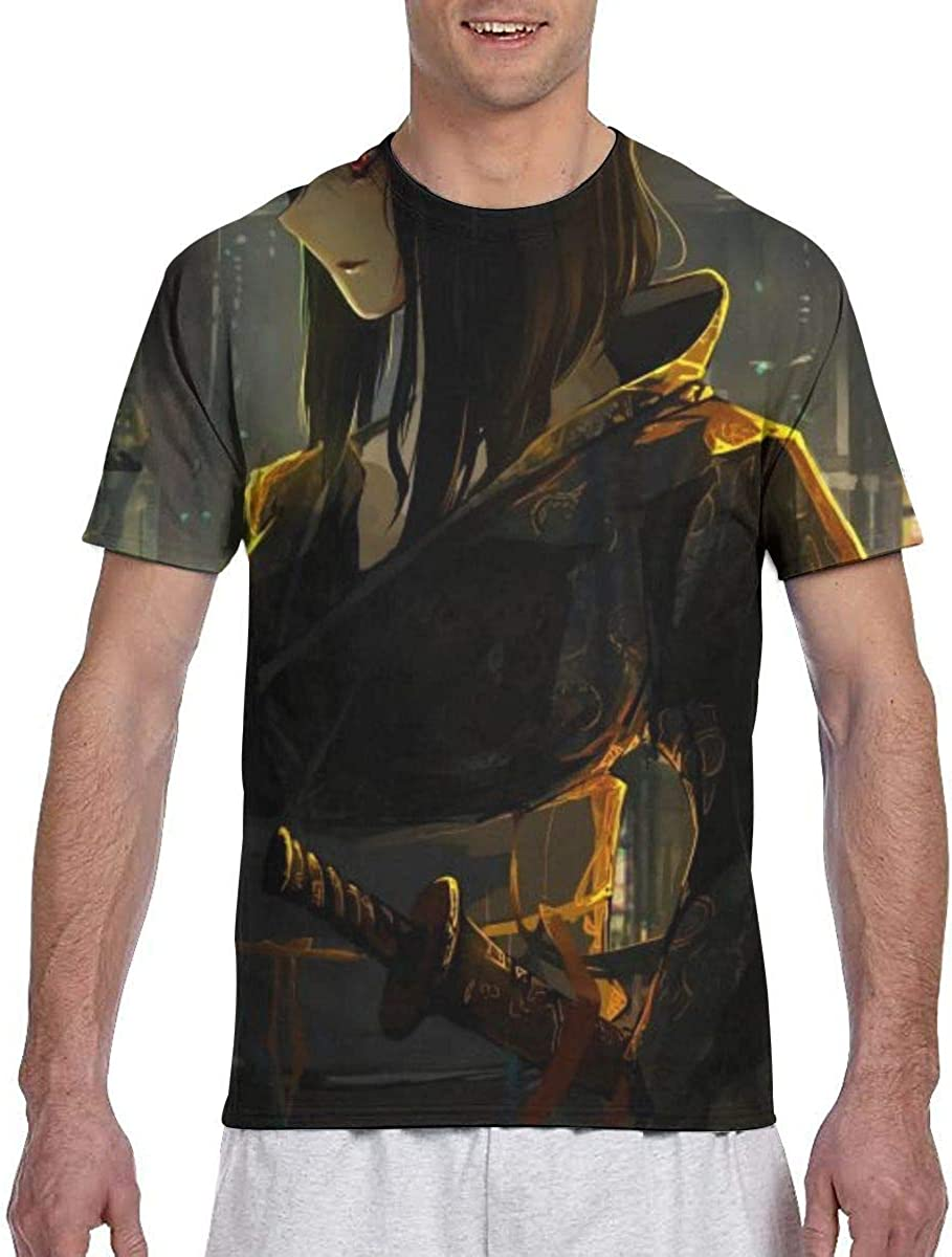Lord El-Melloi II Case Files Anime Men Two Side Print Polyester Short Sleeve Shirts