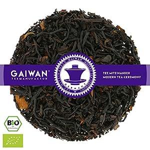 "Núm. 1406: Té negro orgánico""Canela negra"" - hojas sueltas ecológico - 250 g - GAIWAN® GERMANY - té negro de la India, cassia"